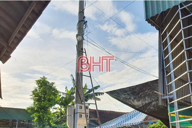 Hà Tĩnh: 3 người bị điện giật tử vong lúc sáng sớm